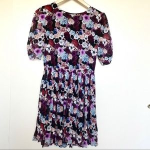Pins and Needles floral dress  sz small open back